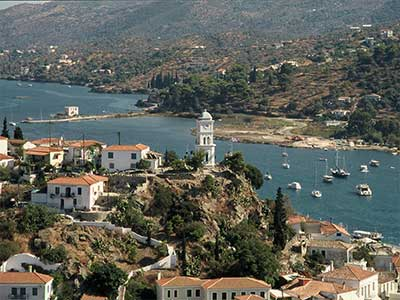 The historical clock of Poros